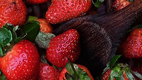 Bowl of Strawberry
