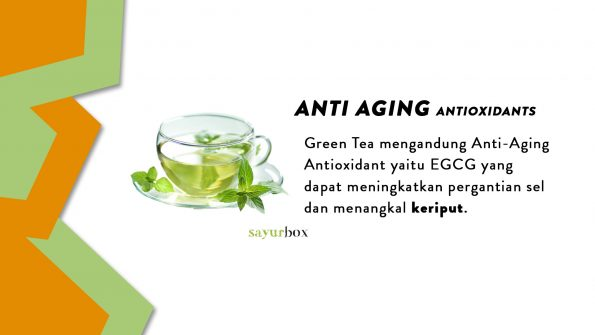 makanan anti-aging
