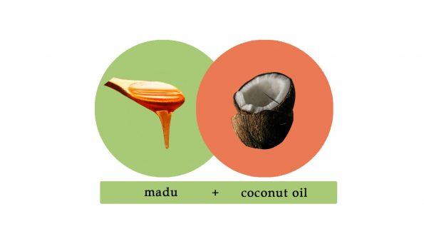 merawat rambut dengan bahan natural