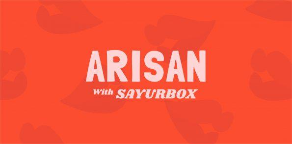 arisan with sayurbox
