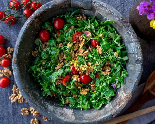 tips membuat salad