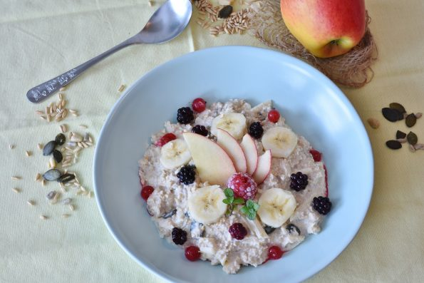Olahan oatmeal untuk sarapan