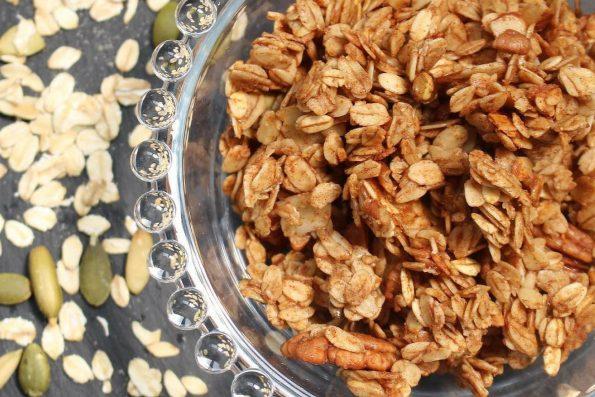 cara membuat granola bar