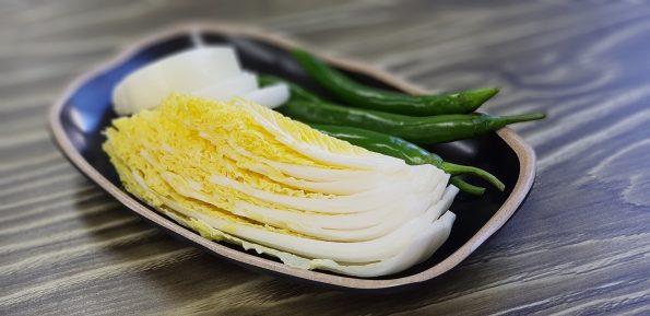 cara memasak sawi putih