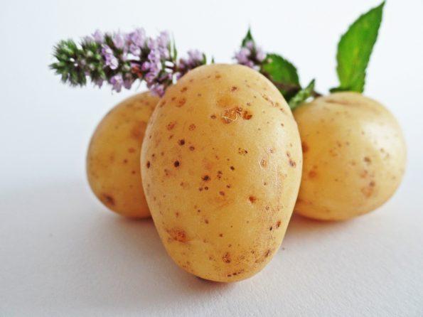 Manfaat masker kentang