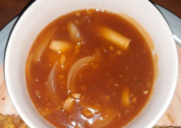 Tips membuat saus asam manis yang enak