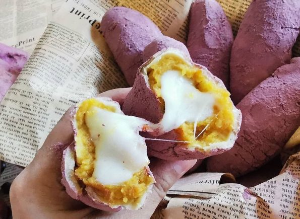 Resep Korean Sweet Potato Bread