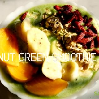 Smoothie Bowl Green Coconut